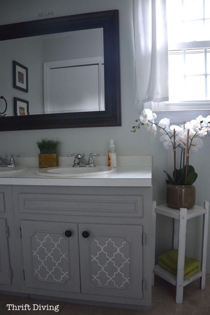 best 25 painting bathroom vanities ideas on pinterest diy bathroom paint diy bathroom. Black Bedroom Furniture Sets. Home Design Ideas