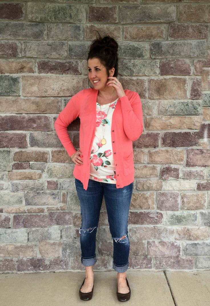 marvelous outfits sweater coral 2017