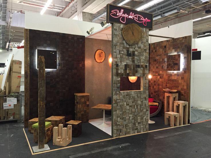 Ambiente 2015. #wallpanels #wood clock #recycling design #dado #blocco #woodendiamonds #woodendestiny #coffetable #bottegadeldisegno