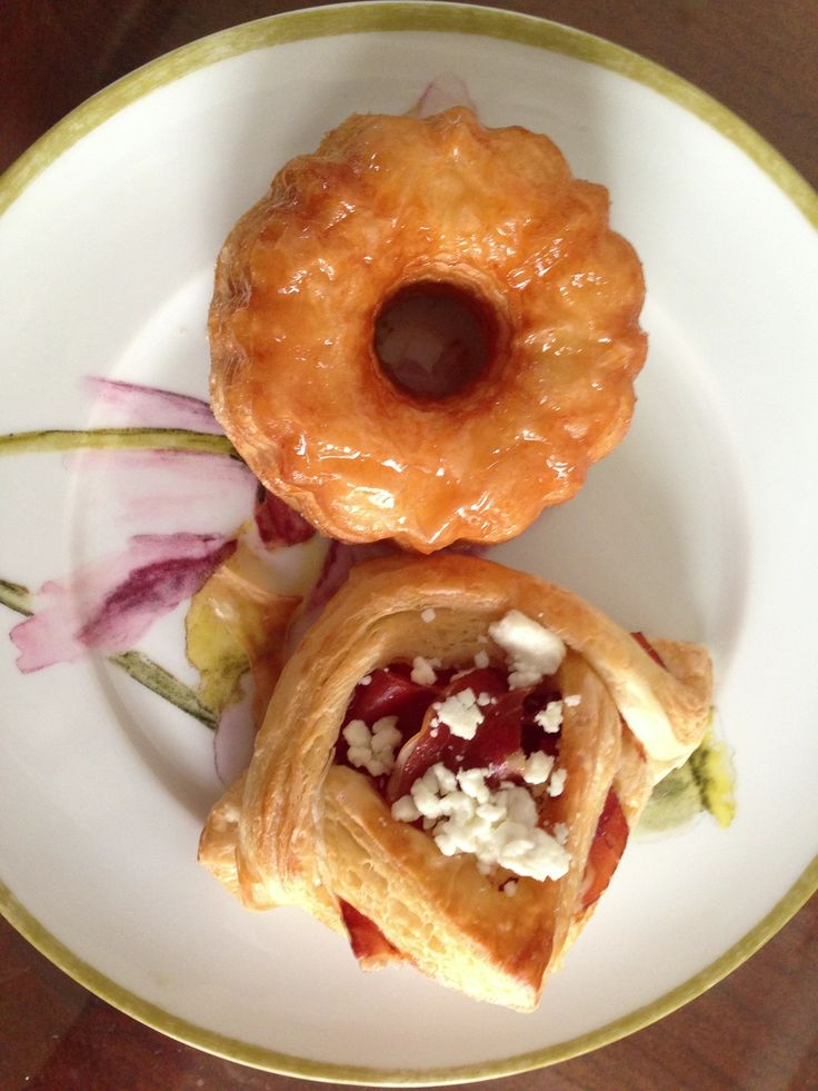 Cronut + Prosciutto Goat Cheese Danish from Semi Sweet Bakery in ...