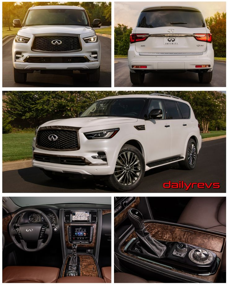 2021 Infiniti QX80 Dailyrevs in 2020 Infiniti, Luxury