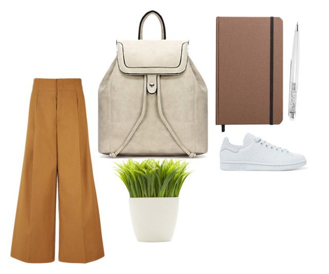 """dezqa brown"" by indreswarik on Polyvore featuring Shinola, Dot & Bo, adidas Originals and Joseph"
