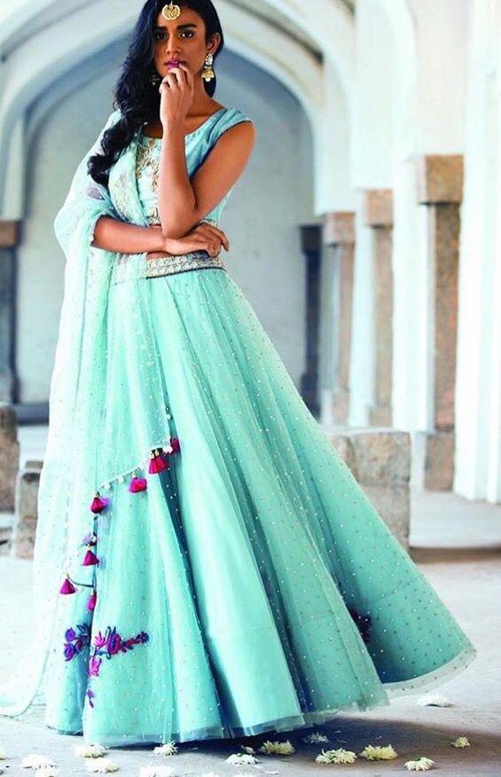 Monika and Nidhi # summer bride # Mehandi look # Indian fashion # lehenga