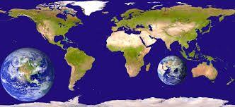 Resultado de imagen para foto de satélite de continentes