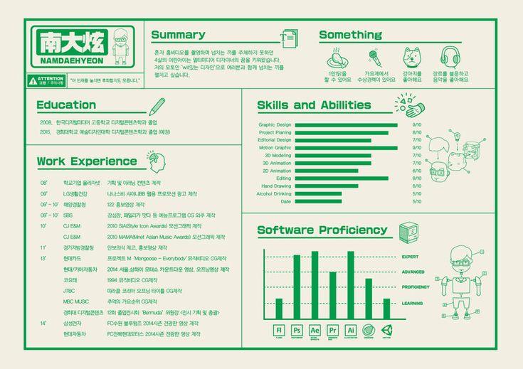 Résumé , 이력서 (2014) - 디지털 아트 · 영상/모션그래픽 · 일러스트레이션, 디지털 아트, 영상/모션그래픽, 일러스트레이션, 디지털 아트, 브랜딩/편집