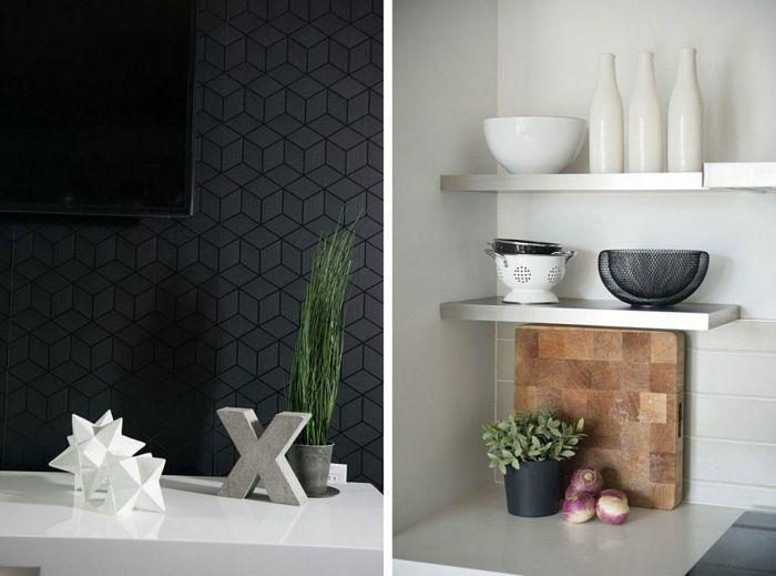 302 best kitchen images on Pinterest Kitchen, Modern kitchens - industrieller schick design dachwohnung