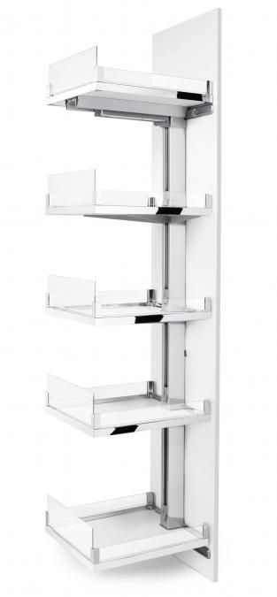Hafele - Space Tower Pantry Solution.  Easy to use & offers plentiful storage space! On display at Springvale & Essendon showrooms