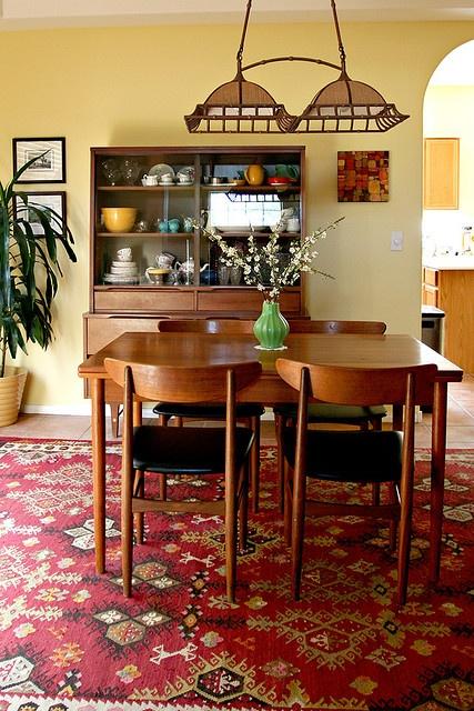 Danish Modern Dining Room Set Design Sponge Reject