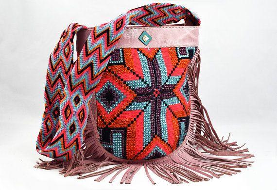 Wayuu bags. Bolsos estilo wayuu. Artesanía originaria de Colombia. Guajira bags. by Trenda Lerenda on Etsy