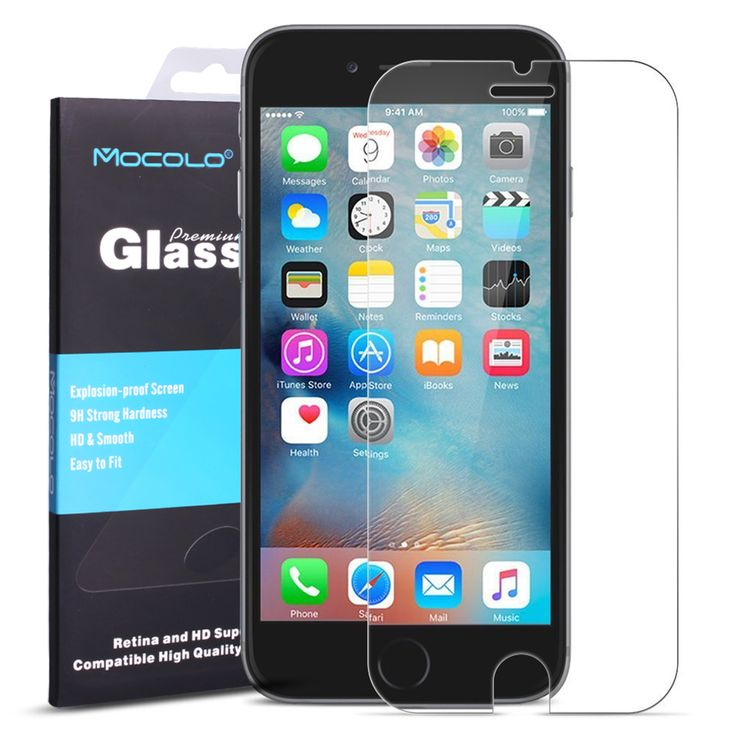 Click to open expanded view Iphone 7 Screen Protector,Vmoloco iPhone 7 Glass Screen Protector 0.3mm Ultra-thin for HD Clear Apple iPhone 7 Blue Light Film
