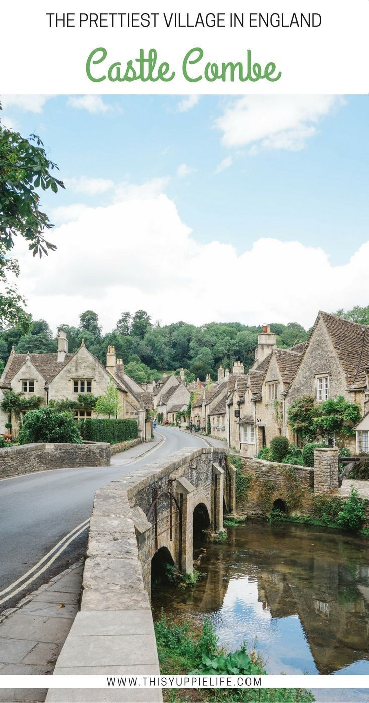 Vintage A look inside Castle Combe often called the prettiest village in England plete with