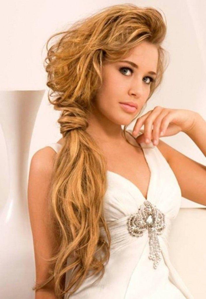 25 trending side ponytail updo ideas on pinterest side ponytail messy side ponytail updo for promheadband braid pmusecretfo Gallery