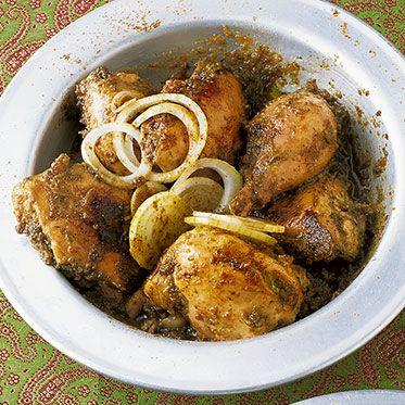 Huhn mit Koriander