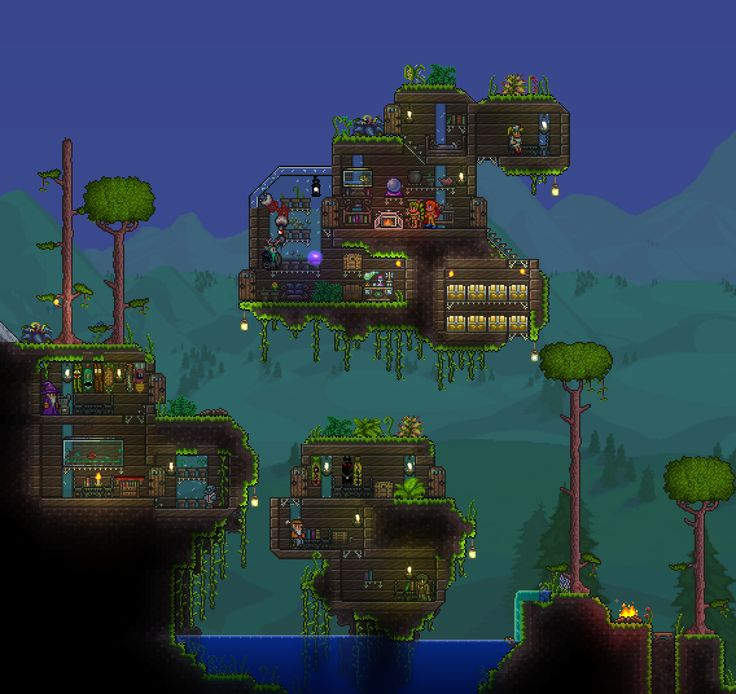 104 Best Images About Terraria On Pinterest: 1000+ Images About Terraria House Ideas On Pinterest