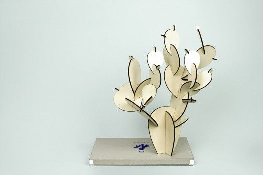 Le cactus en bois #2 - Papier Tigre