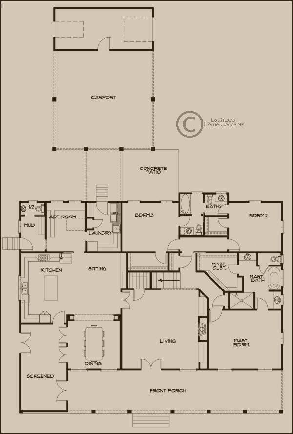 Pin by kristin furlow atchison on house plans pinterest for Louisiana home plans