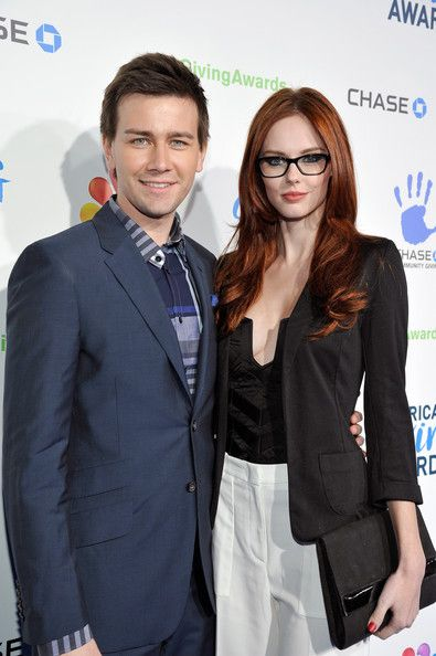 Alyssa Campanella and Torrance Coombs - American Giving Awards Presented By Chase - Red Carpet