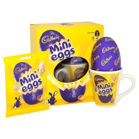 Mothers Day Cadbury Easter Eggs Milk Chocolate Balls Mohers Mug Cup Gift Set #Cadbury