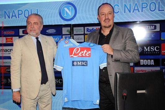 Rueda de prensa Benitez-De Laurentiis