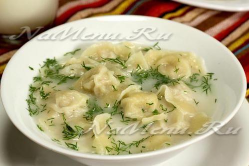 Чучвара – узбекские пельмени с мясным бульоном. Готовятся немного иначе, чем обычные пельмени. Но результат того стоит.
