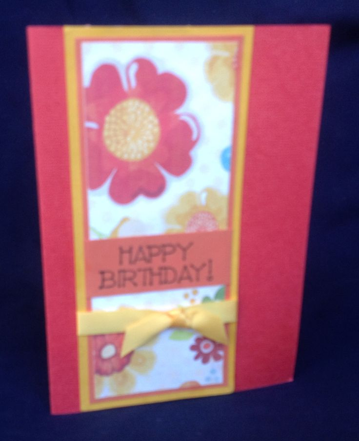 Birthday card using My Minds Eys paper