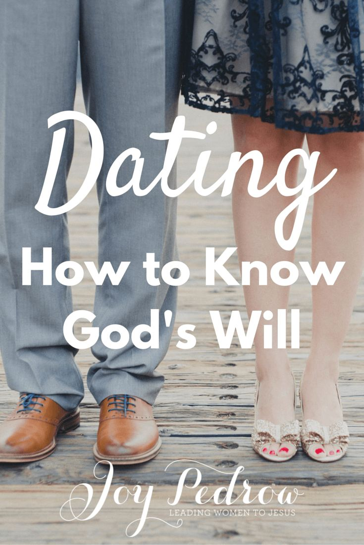 Christian dating how to know marriage