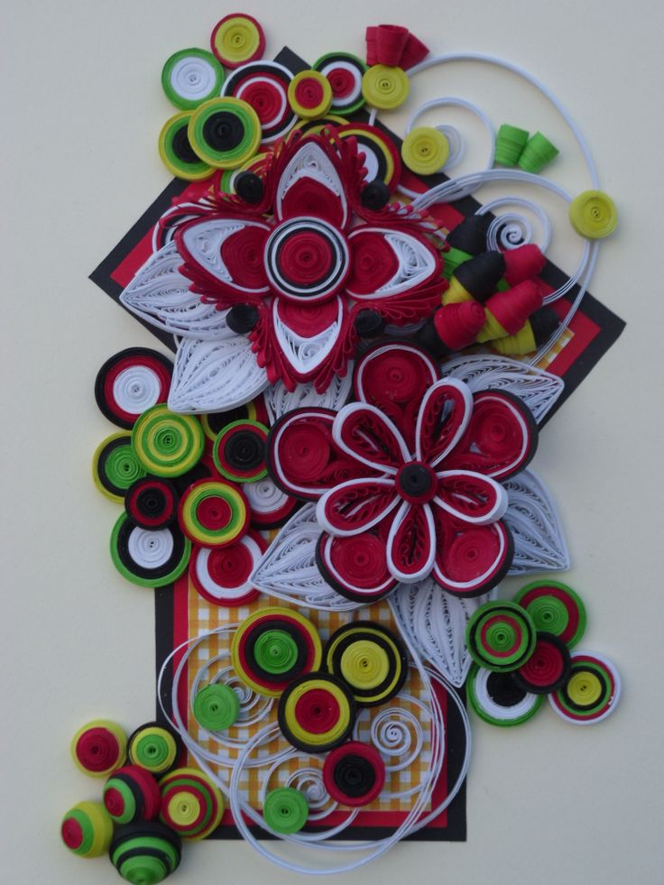 This is my hand work quilling pinterest beautiful for Chart paper craft work
