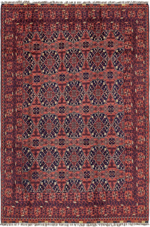 Rust Red 193cm x 292cm Khal Mohammadi Oriental Rug   Oriental Rugs   iRugs NZ