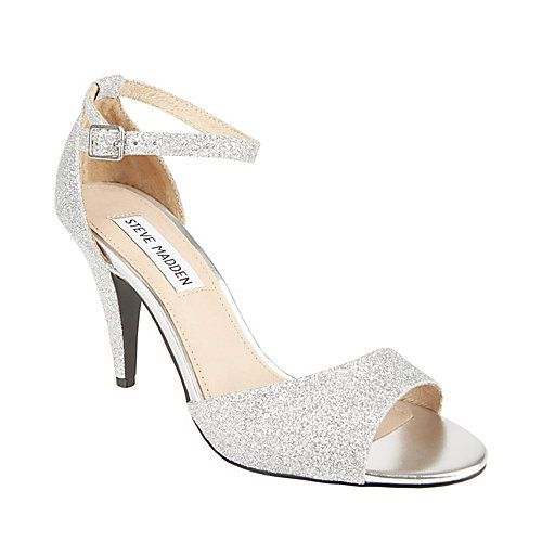 Steve Madden Walltz.  Not really as high as my usual heels but sparkly so I got them anyway :)
