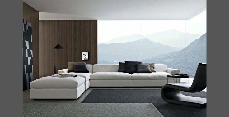 www.poliform.itLiving Spaces, Poliform Sofas, Tv Room, Dunes Sofas, Interiors, Livingroom, Living Room, Poliform Dunes, Design