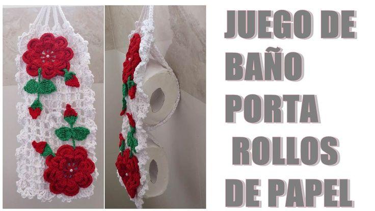 Juegos De Baño Tejidos A Crochet Paso A Paso:de 1000 ideas sobre Juegos De Baño Tejidos en Pinterest