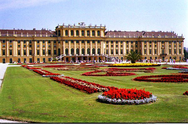 Schonbrunn Palace Viena Austria home of the beautiful and tragic Empress Sissi of Austria. - I have been there