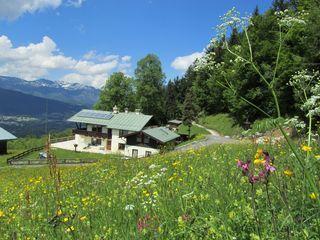 """Bergpanorama met uitzicht op de vallei 1 """"Hochkalter"""""""