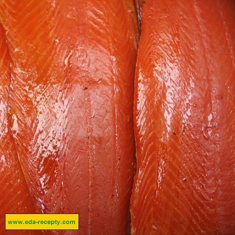 Копченый лосось сливочный сыр