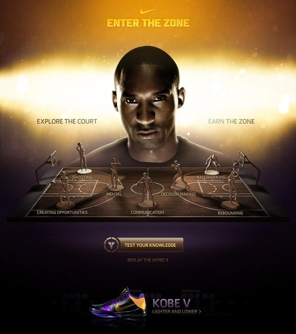 Kobe Bryant - Enter The Zone by Rasmus Wangelin, via Behance