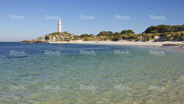 Rottnest Island Lighthouse stock photo 43192322 - iStock