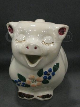 Shawnee Pottery Smiley Ceramic Pig Pitcher
