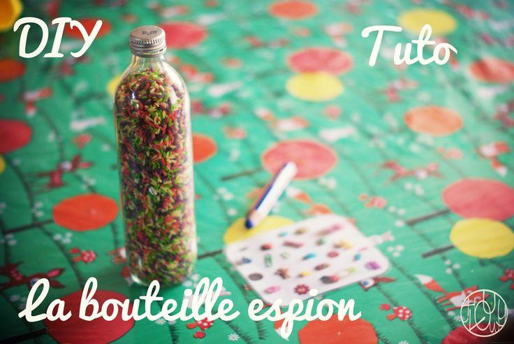 La bouteille espion (I spy Game) - Dans ma petite roulotte...