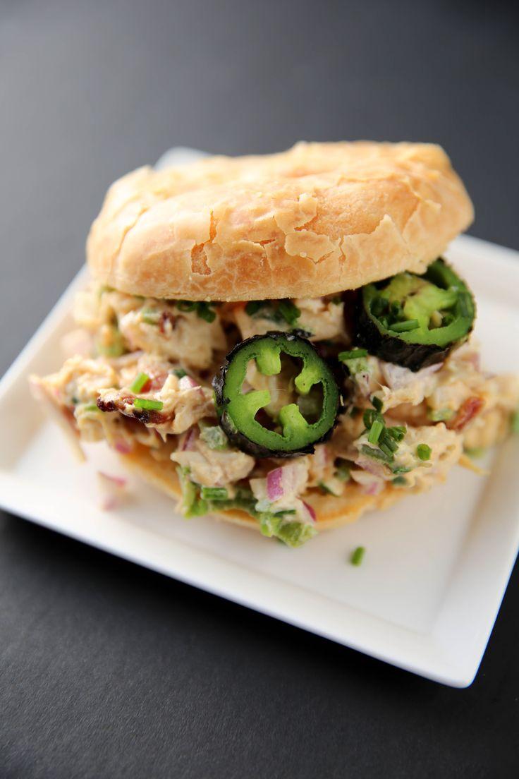 Jalapeño Popper Chicken Salad (+ cooking video!)