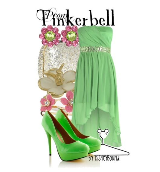 Tinker bell prom