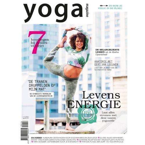 Yoga Magazine 2016 - 4 - Levensenergie - Zeven houdingen bij liefdesverdriet. voor een goed figuur.