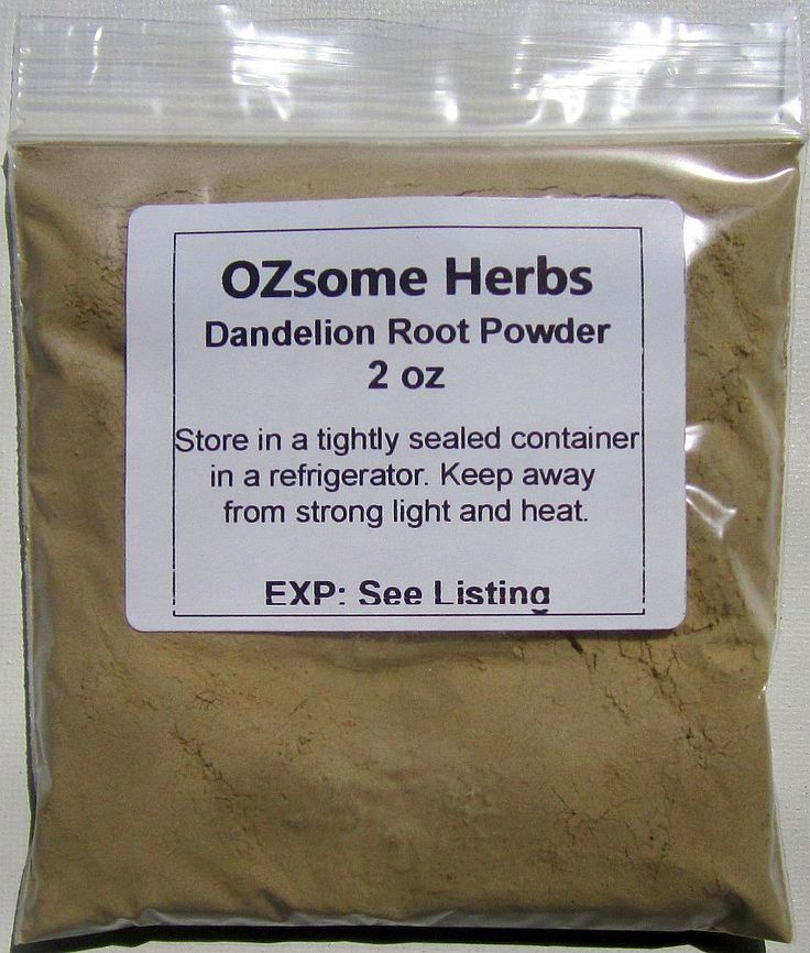 1, 2, 4, & 8 oz. Dandelion Root Powder, Taraxacum officinale