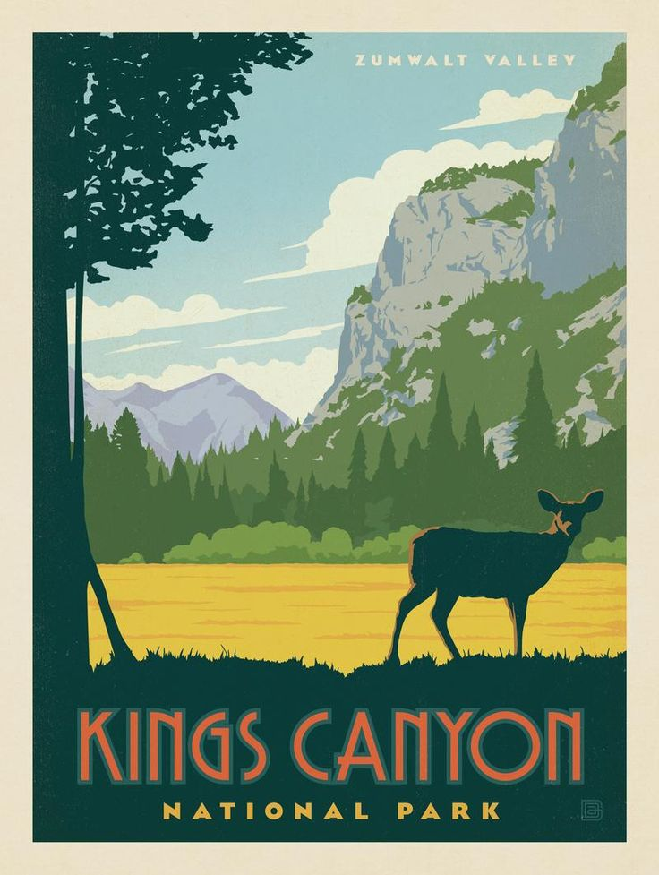 Anderson Design Group – American National Parks – King's Canyon National Park