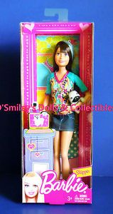 Skipper!™<>... Barbie® Doll... Label/Edition: PLAYLINE... Designer: NA... Series: CAMP BARBIE... Release: 2012... Product Code: W3283... Skipper® is back!...and ready to to have lots of fun with family & friends. Skipper features Brunette hair with a punky blue streak and lavender-blue eyes. She wears the hippest...