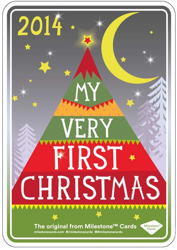 My First Christmas - Free Printable available. #firstchristmas #baby #christmas
