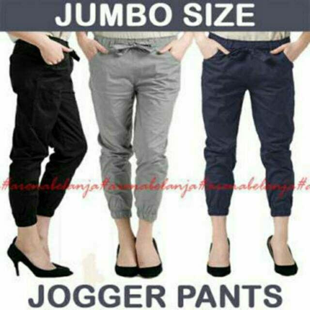 Saya menjual Jogger Pants / Celana wanita / celana santai seharga Rp85.000. Dapatkan produk ini hanya di Shopee! {{product_link}} #ShopeeID