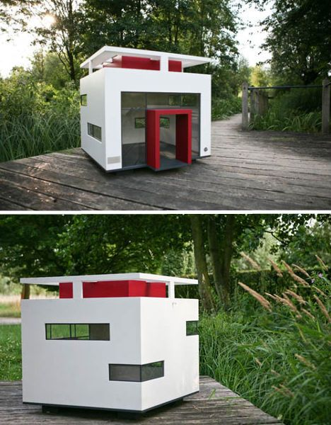 Best 25 amazing dog houses ideas on pinterest for Architecture and design dog house