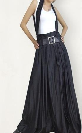 Шерстяная юбка с запахом выкройка