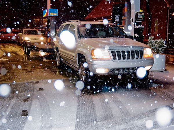 Jeep Snow Driving Tips – JP Magazine #jeep #snow #driving #tips,jeep #snow #driving,snow #off #road,deep #mud #off #road http://miami.remmont.com/jeep-snow-driving-tips-jp-magazine-jeep-snow-driving-tipsjeep-snow-drivingsnow-off-roaddeep-mud-off-road/  # Jeep Snow Safety – Driving While Sloppy Many of the aggressive tires on our Jeeps don't have siping. Most of us don't have ABS simply because we don't trust it to stop us on the trail. The Jeep, by nature, has a short wheelbase and a high…