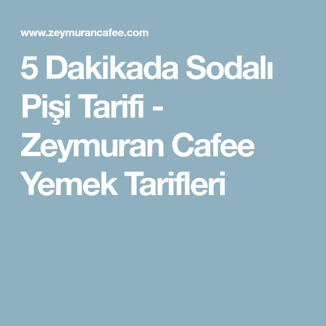 5 Dakikada Sodalı Pişi Tarifi - Zeymuran Cafee Yemek Tarifleri